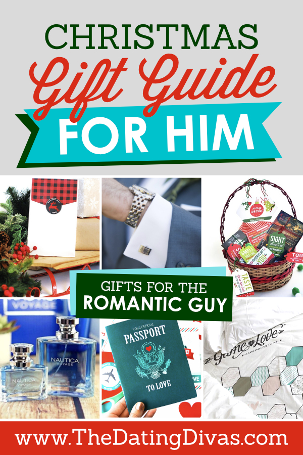Christmas Gift Guide for the Romantic Guy