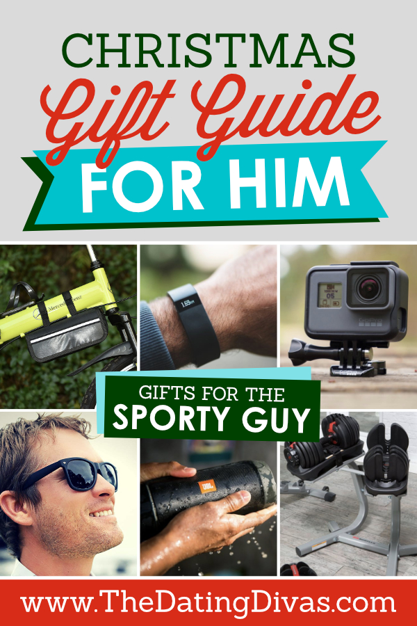 Christmas Gift Guide for the Sporty Guy