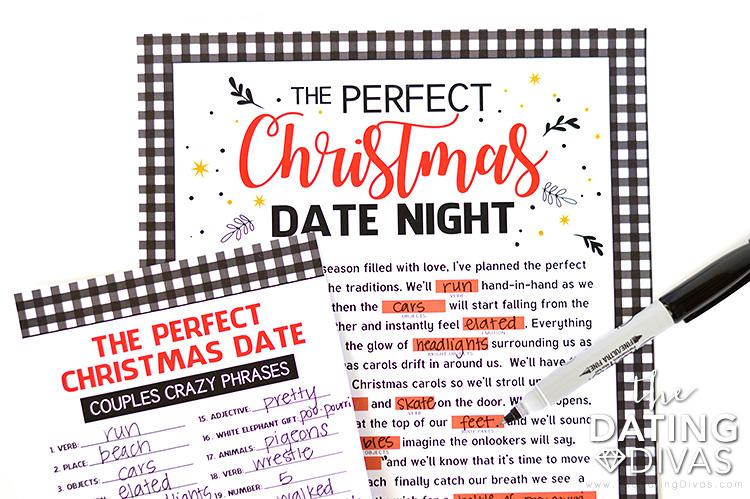 Christmas Crazy Phrases Game Idea
