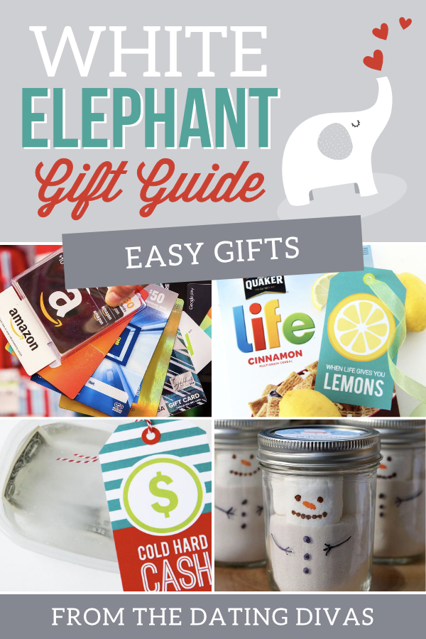 Easy Good White Elephant Gifts