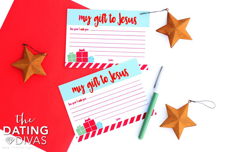 Gift to Jesus Stationery
