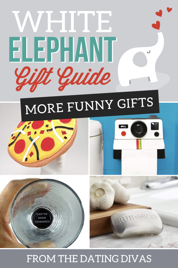 50 Hilarious and Creative White Elephant Gift Ideas - The Dating Divas
