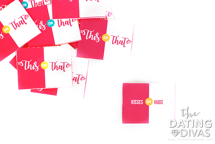This or That Date Night Game Cards