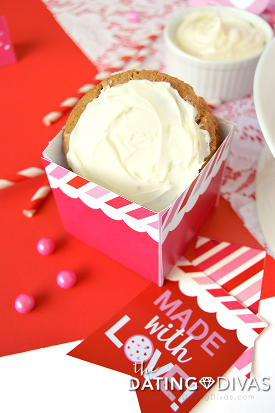 Valentine's Day Cookie Party Containers
