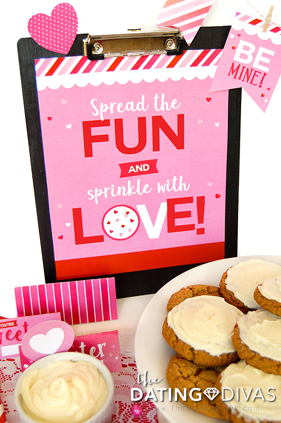 Valentine's Day Cookie Party 8x10 Print