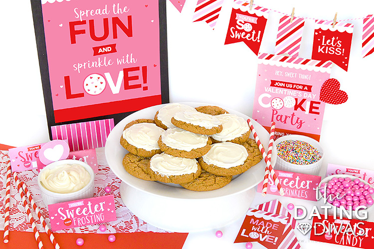 Valentine's Day Cookie Party Printable Pack