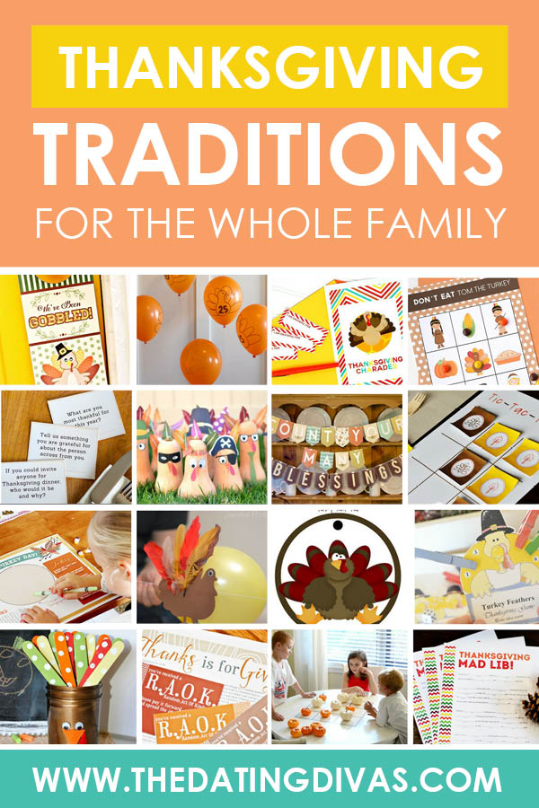 Make the most of this Holiday season with these Thanksgiving traditions! Create memories for your children that will last a lifetime.