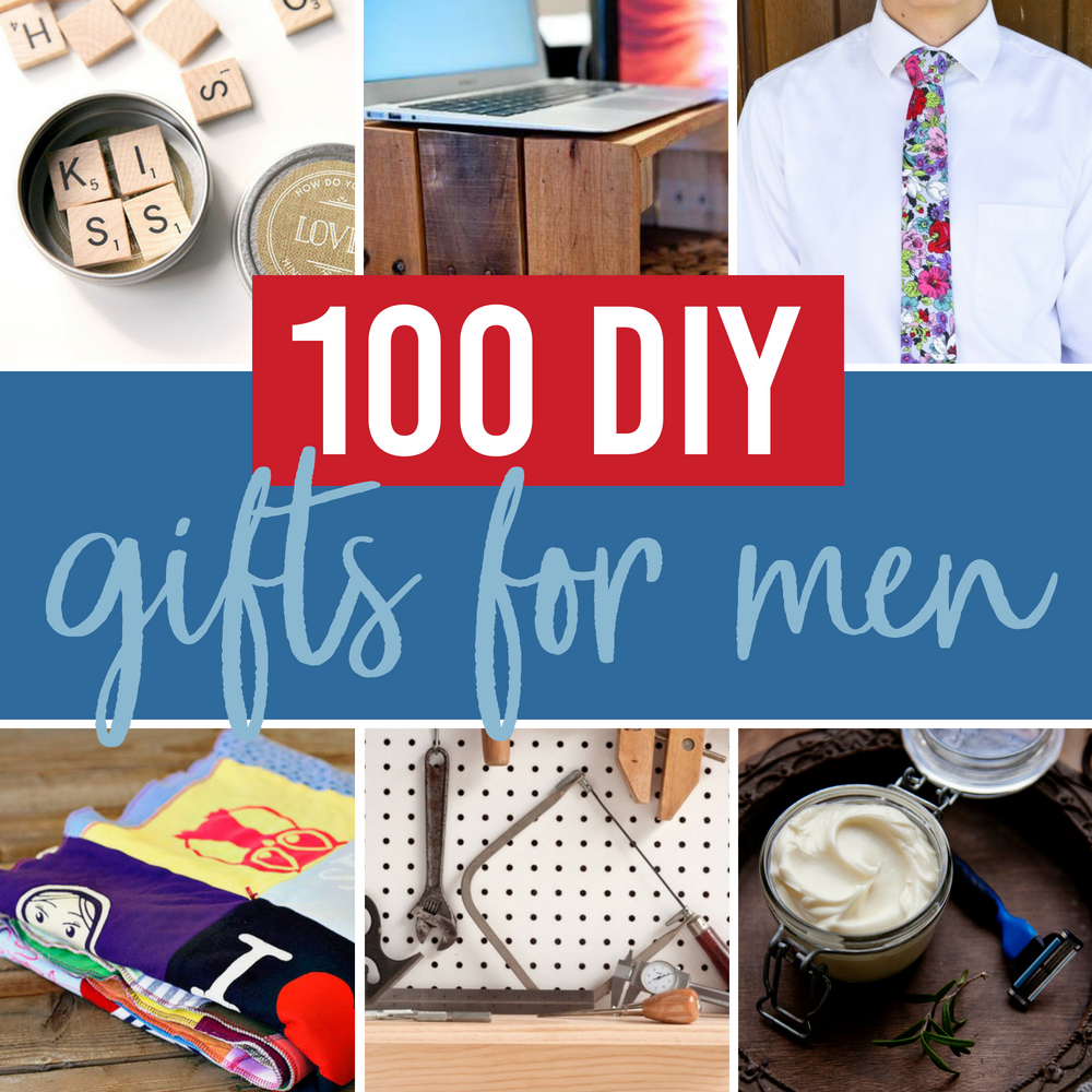 Creative DIY Gift Ideas For Men