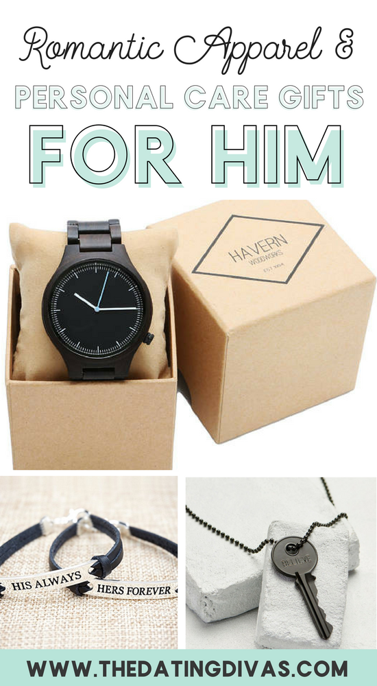 apparel personal care romantic gifts for him