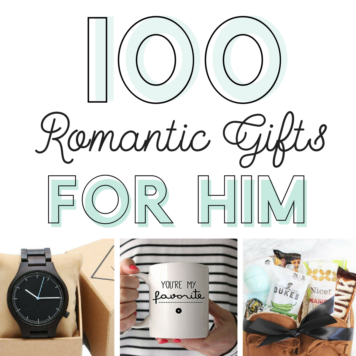 Diy Romantic Christmas Gifts: 100 Romantic Gifts For Him