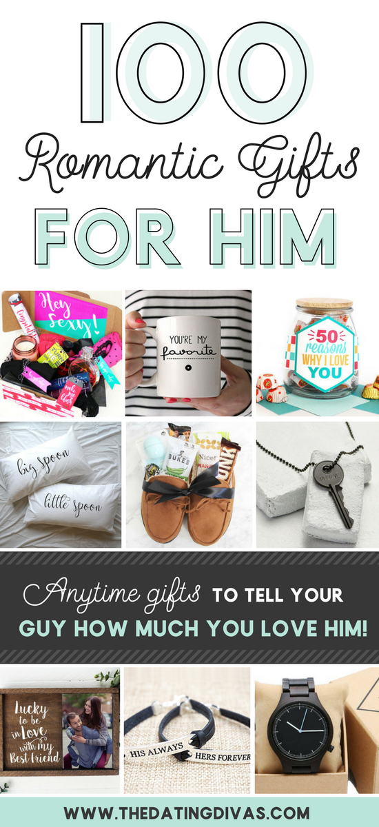 100 Romantic Gifts For Him From The Dating Divas