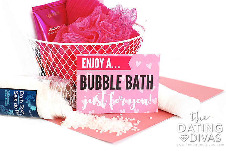 Bubble Bath Gift Idea