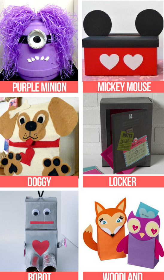 Favorite Valentine Box Ideas