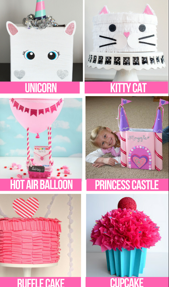 Girl Valentine Box Ideas
