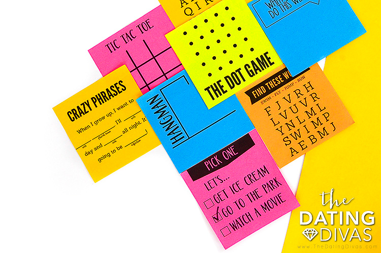 Print Out Game Ideas for Kids