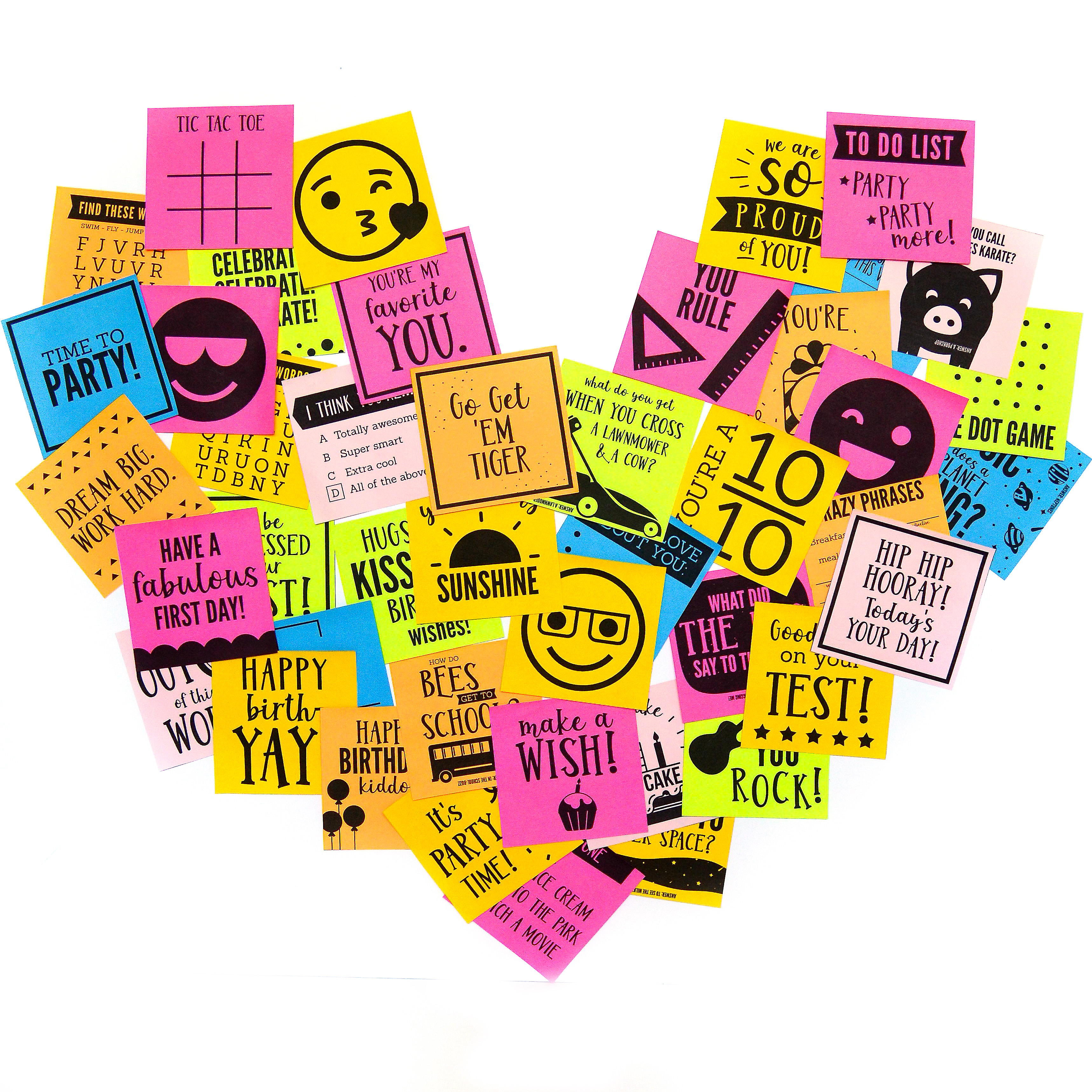 image about Printable Sticky Notes called Little ones Printable Sticky Notes - Versus The Courting Divas