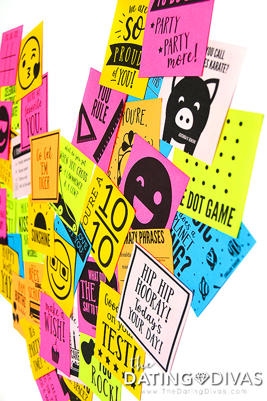 Kids' Sticky Notes Printables