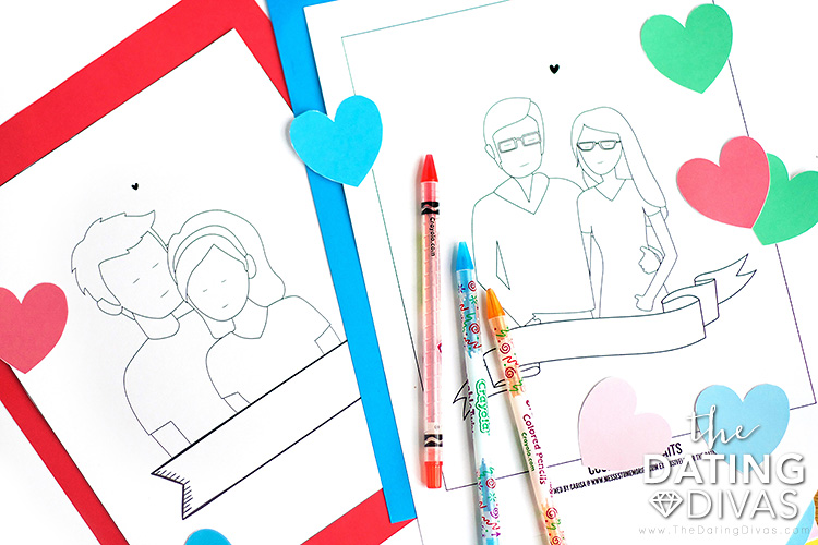 Make Your Own Custom Couple Illustration