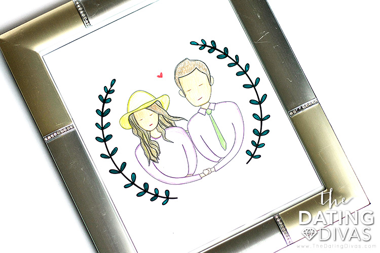 Custom Couple Illustrations Home Decor