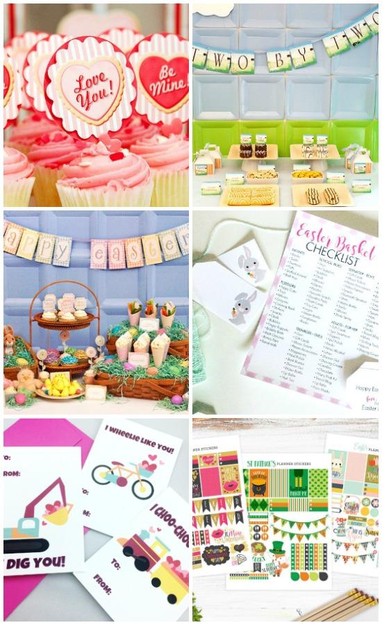 Spring Blogger Bundle Combined Holidays