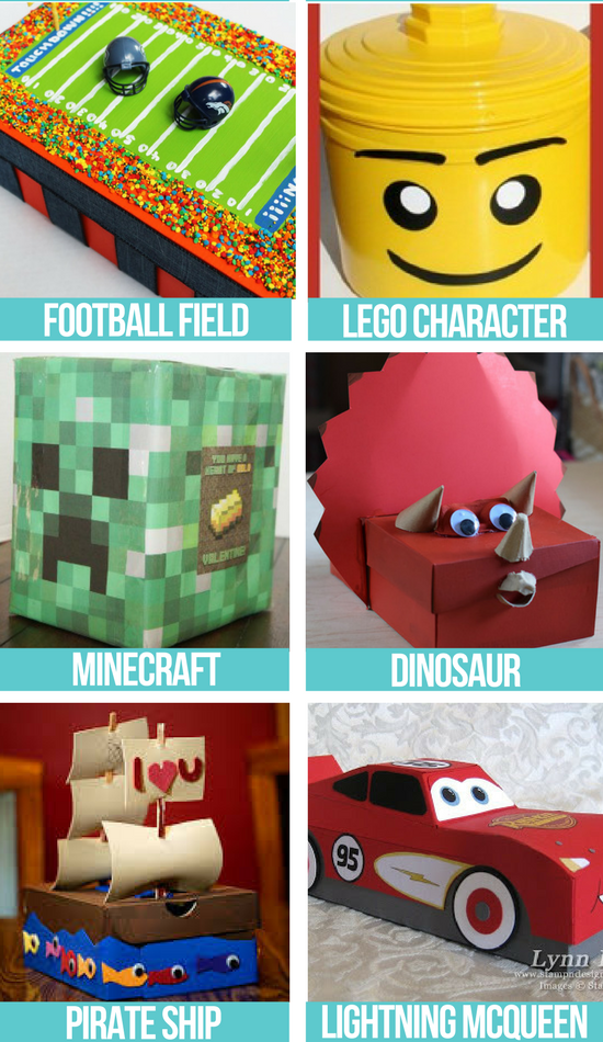 Valentine Box Ideas For a Boy