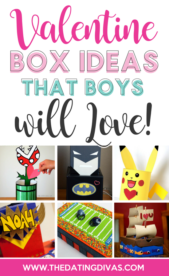 Valentine Box Ideas That Boys Will Love
