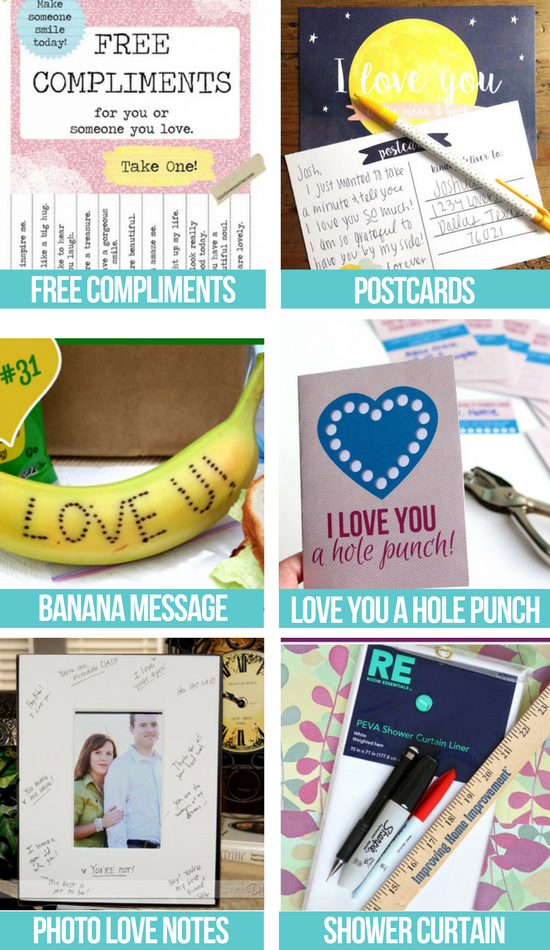 Creative Free Love Notes collage
