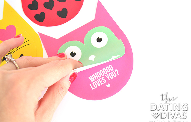 Owl bookmark for V-day.