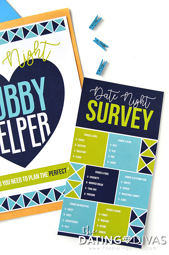 Date Night Hubby Helper Survey