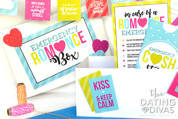 Emergency Romance Box Contents