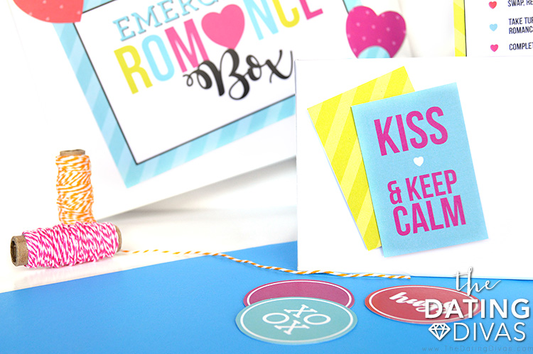 Emergency Romance Box Stickers