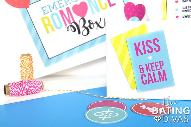 Emergency Romance Box Stickers