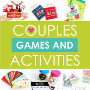 Couple games & activities for your boyfriend