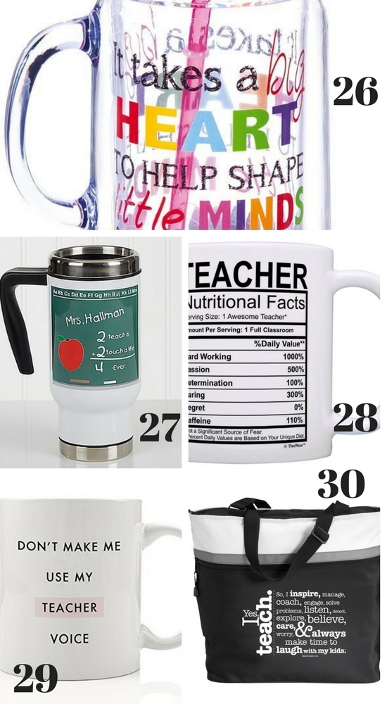 Mug Gift Ideas for Teachers