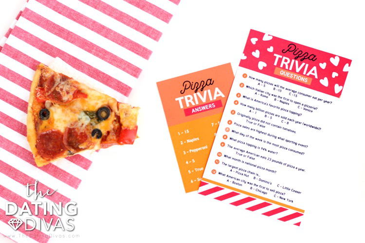 Pizza Date Night Trivia