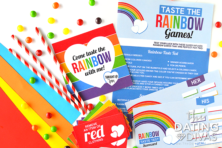 Taste the Rainbow Date Pack