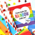 Taste the Rainbow Date