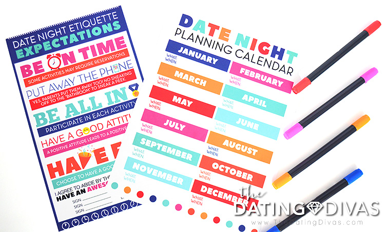 Plan how to improve parenting your teen with this date night planner.