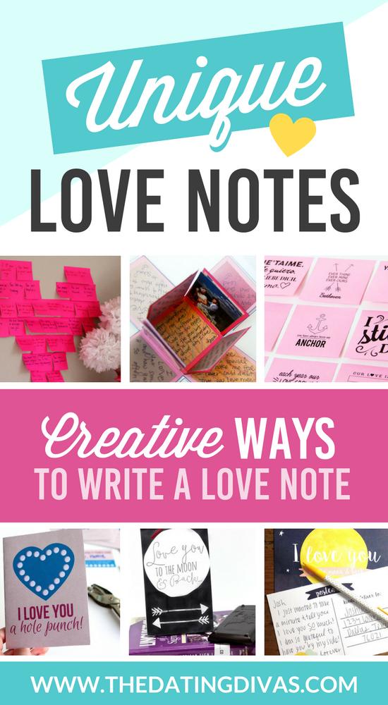 Free Unique Love Notes banner