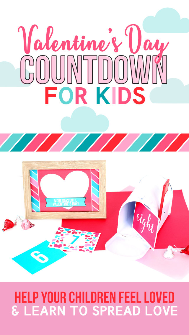Valentine's Countdown For Kids