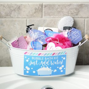 Bubble Bath Kit Gift for Mom