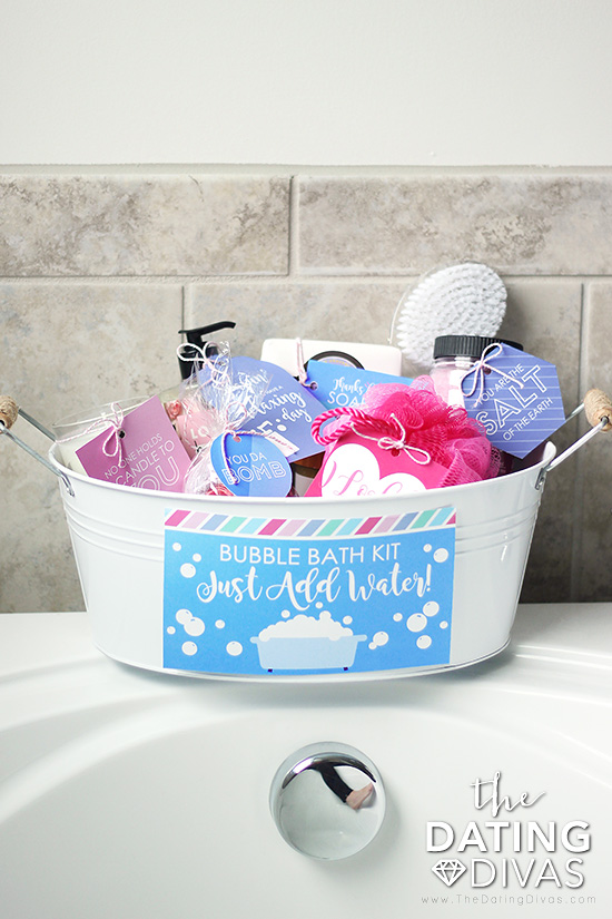 Bubble Bath Kit Mother's Day gift