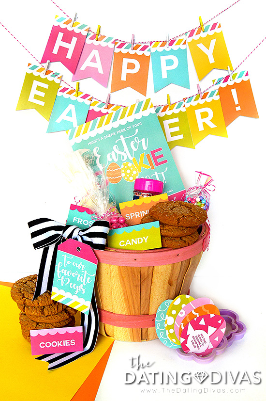 DIY Easter Basket for Families #easterbasketideas #diyeasterbasket #eastergames