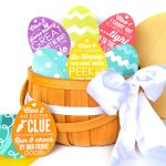 Easter Egg Hubby Scavenger Hunt Clues