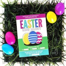 Easter Egg Hunt Game Idea