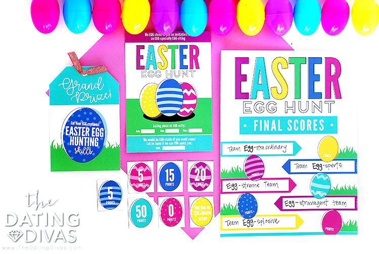 Easter Egg Hunt Game Printables