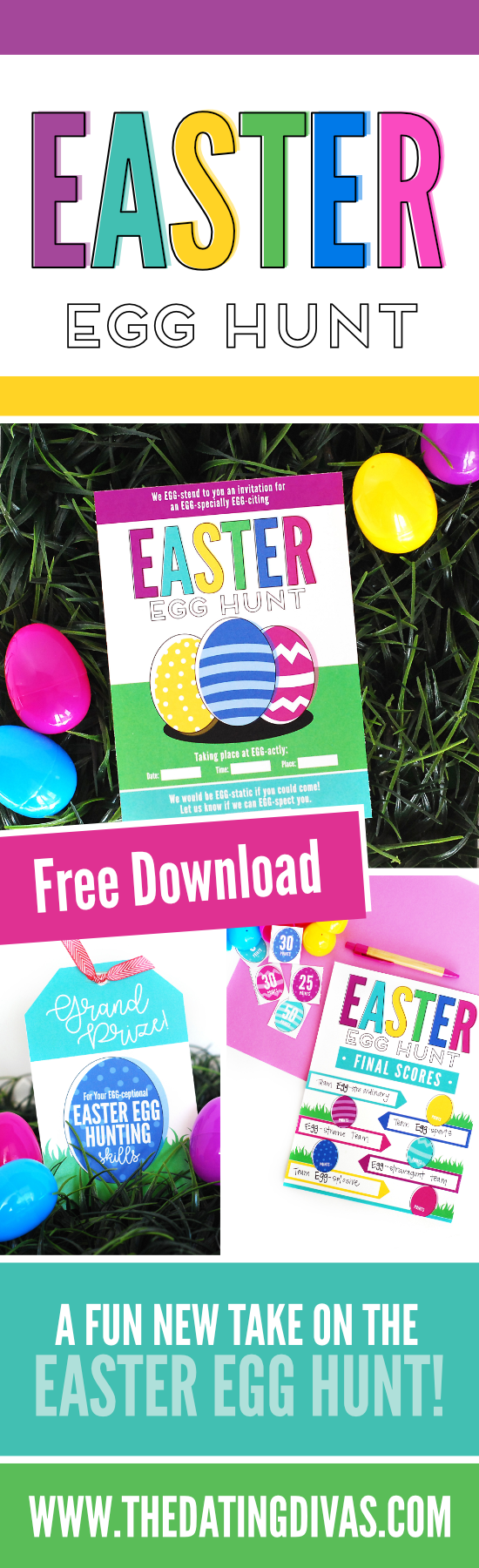 Easter Egg Hunt Game #Easter #EasterEggHunt #EasterIdeas