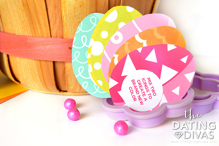 Cards for Easter Games #easterbasketideas #diyeasterbasket #eastergames