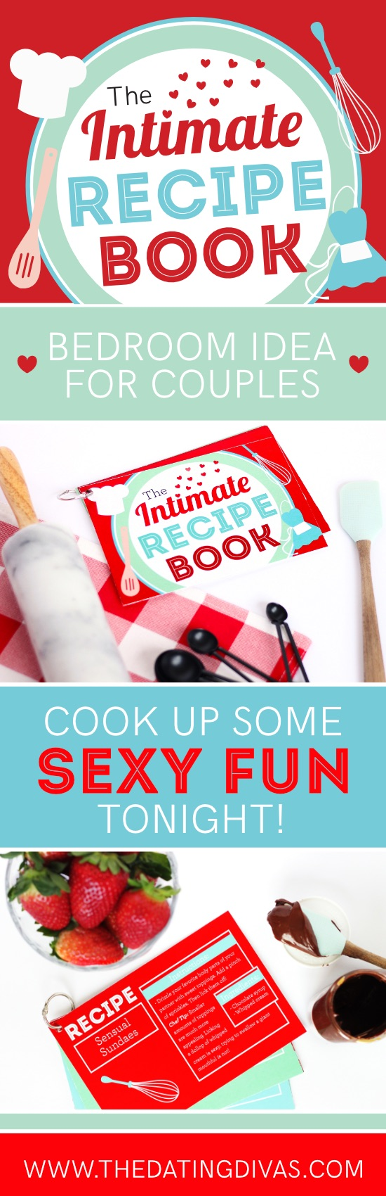 Intimate Recipe Book Sexy Ideas for Couples #bedroomideas #sexyideasforcouples