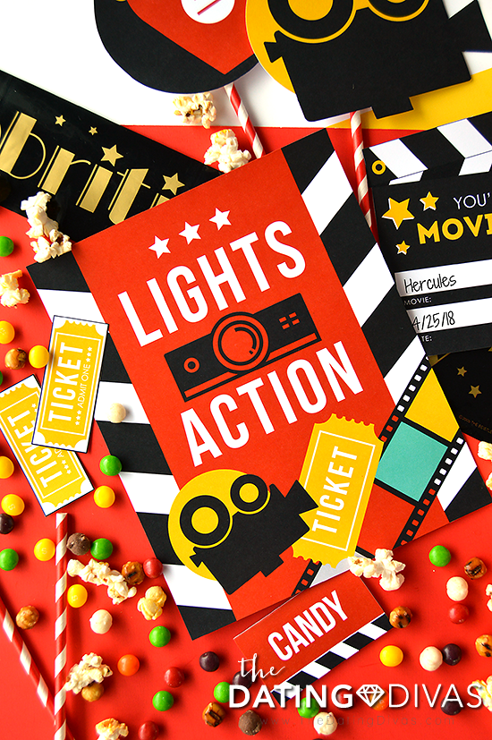 Kids Movie Night Decor #movienight #familyfun #familytime